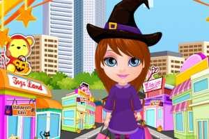 Bebek Barbie Cadılar Bayramı Alışverişi