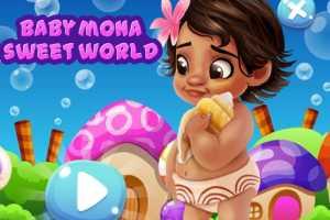 Bebek Moana Şeker Diyarı