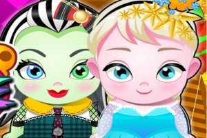 Elsa Ve Frankie Bebekleri