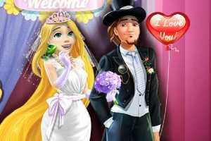 Rapunzel Düğün Gecesi