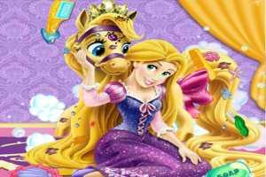 Rapunzel Pony Temizliği